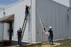 installation of external cameras