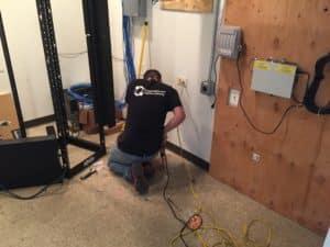 Bridge Cable network data cabling technician
