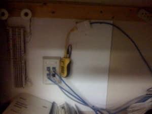 cable installation network test conshohocken