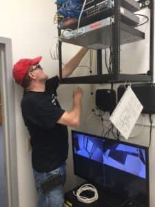 Bridge Cable network cabling technician