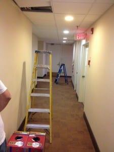 hallway runs structured cabling installation philadelphia