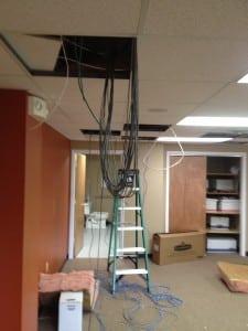 installation mount laurel structured cabling