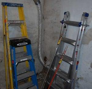 ladders poles