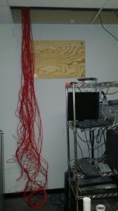 network cable installation rack2