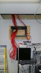 network cable installation rack3
