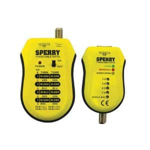 sperry network cable tester