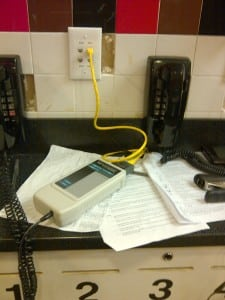voice data cabling testing center city