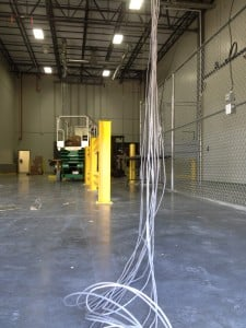 warehouse cabling network
