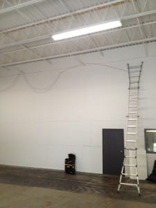 warehouse network cabling philadelphia project
